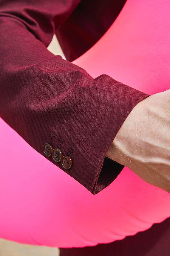 giorgio-costume-coton-bordeaux-detail